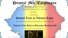 Diploma-Mile-Carpenisan-Civic-Media-2016-Simona-Lazar-Valentin-Tigau-Radio-Romania-1024x719