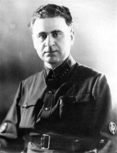 Generalul NKVD Sergo Goglidze, unul din organizatorii deportărilor din 12-13 iunie 1941. Sursa: Wikipedia
