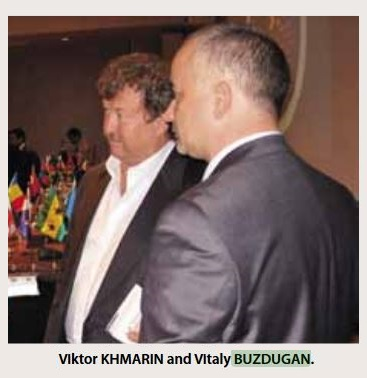 Viktor Khmarin and Vitaly Buzdugan