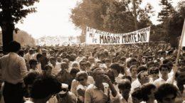 Marsul Alb - Bucuresti, 13 iulie 1990 - Foto Mircea Ordean / GID