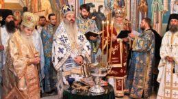 IPS Teofan si ierarhii Mitropoliei Moldovei si Bucovinei la Manastirea Sihastria Putnei