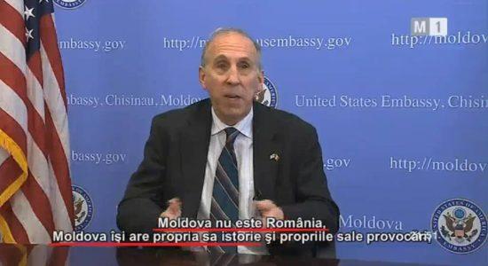 James Pettit, ambasadorul SUA în Republica Moldova, 26 august 2016 Romania