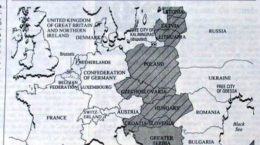 Romania fara Transilvaniei in 1989 - Harta The Independent