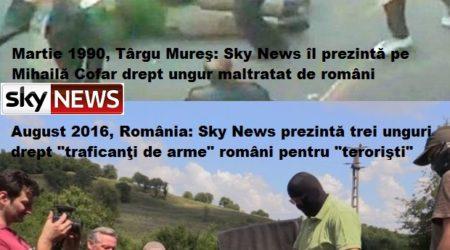 Sky News dezinformare Martie 1990 Targu Mures 2016 Romania Stuart Ramsay