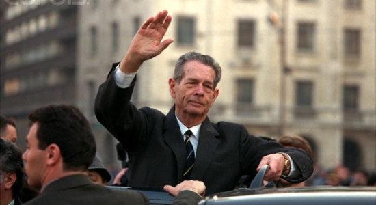 Regele Mihai la Bucuresti - 2 Martie 1997 -  Foto © Jacques Langevin/Sygma/Corbis