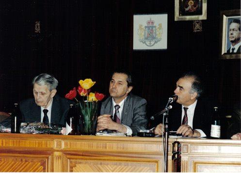 Corneliu Coposu, Valentin Hossu Longin si Vartan Arachelin (1994)
