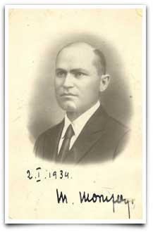 Mihail Moruzov (1887-1940), șef al Serviciului Secret de Informații (1924-1940)